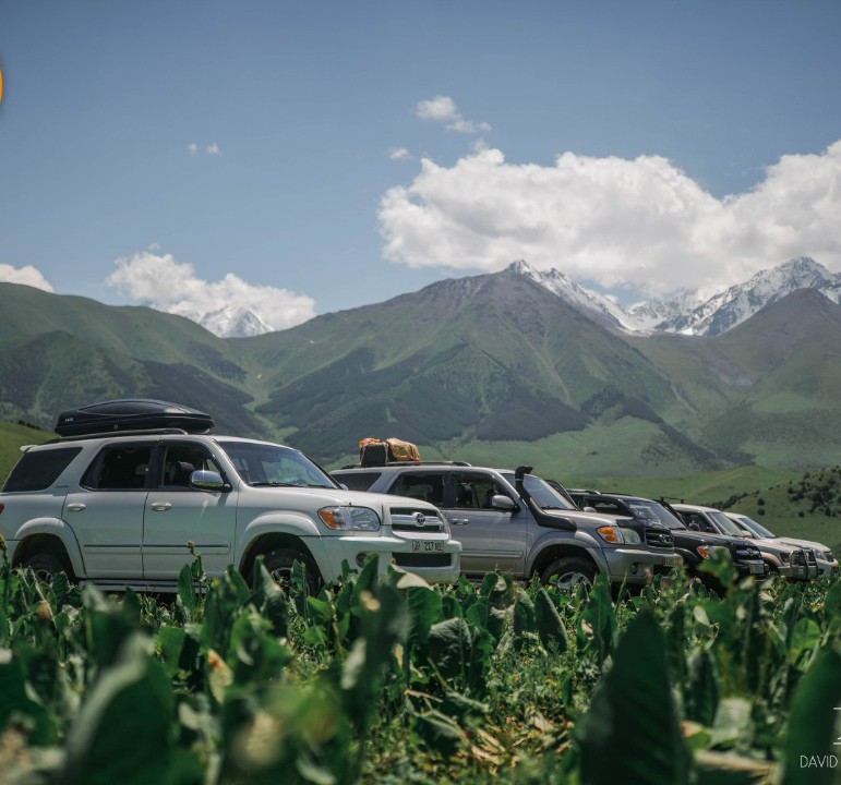 Jeep tours in Central Asia