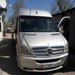 Rent minibus Mercedes Bans 2007 year