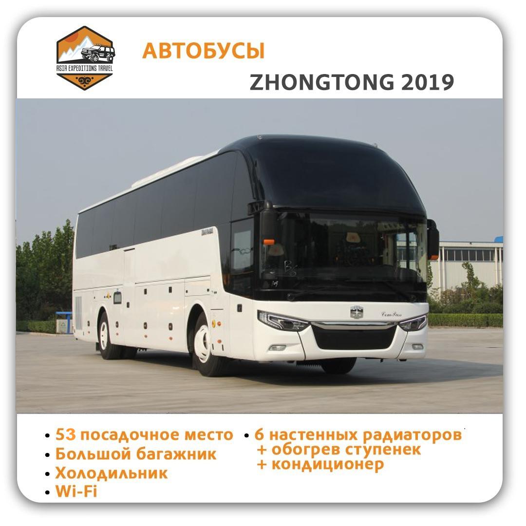 Rent a bus ZHONGTONG 2019